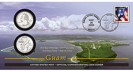 Guam Coin Cover