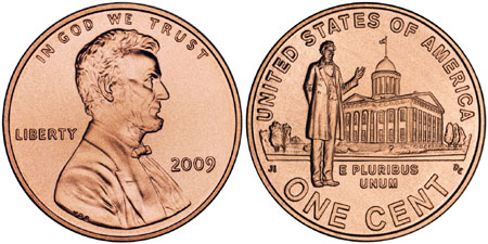 2009 Professional Life Lincoln Cent