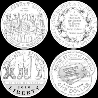 Disabled Veterans Silver Dollars