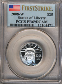 PCGS First Strike Coin