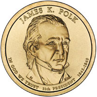 James K Polk Dollar