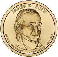 James K Polk Dollar