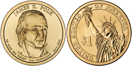 James K. Polk Dollar
