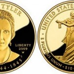 US Mint Offers Julia Tyler First Spouse Gold Coins and Medal