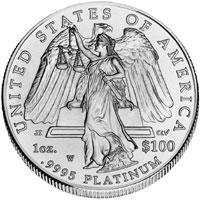 2008 American Platinum Eagle