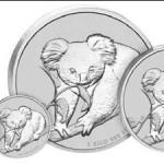 2010 Australian Silver Koala Coins