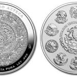 2009 Aztec Caldendar Silver Kilo Coin