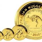 2010 Australian Gold Kangaroo Coins