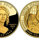 2009 Sarah Polk First Spouse Series One-Half Ounce Gold Coins