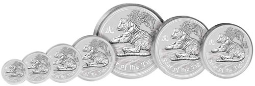 Year of the Tiger Silver Lunar Series