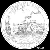 Wyoming Quarter design candidate