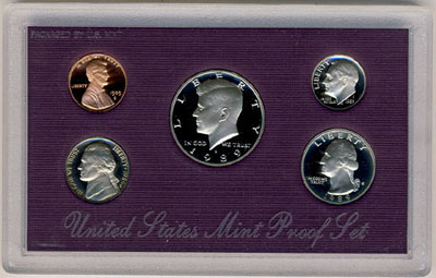 1989 Proof Set