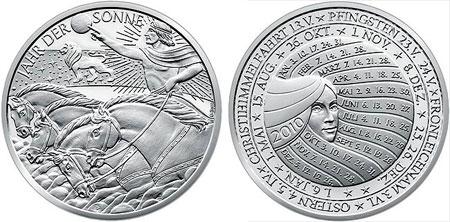 2010 Calendar Medal