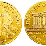 Austrian Mint Issues 20 Ounce Gold Philharmonic Coins