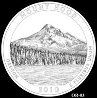 Mount Hood Quarter