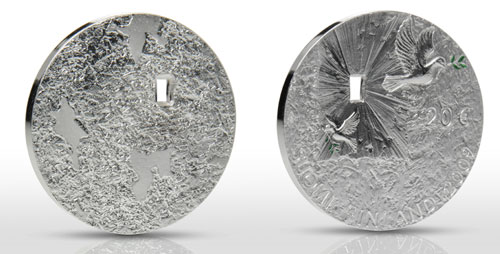 Peace and Security 20 Euro Silver Coin
