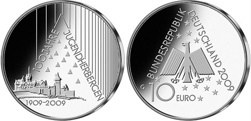 Youth Hostel Silver Coin