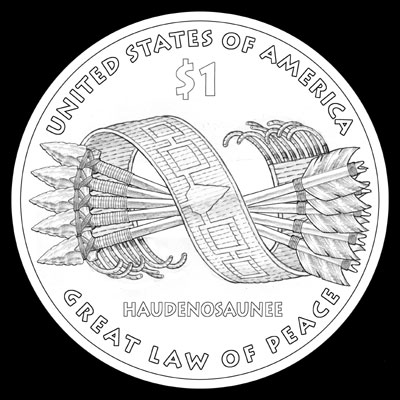 2010 Native American Dollar