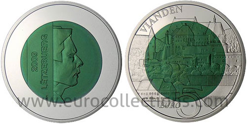 Luxembourg Silver Niobium Coins