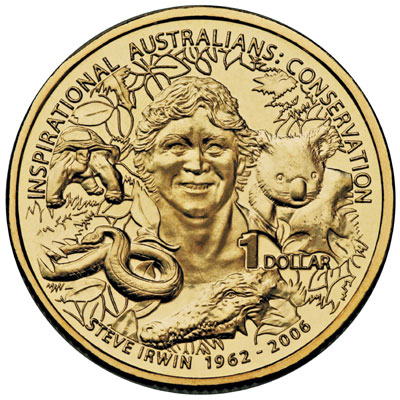 Steve Irwin Coin