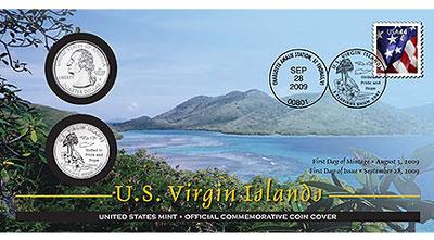 Virgin Islands Coin Cover