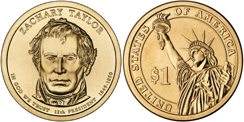 Zachary Taylor Dollar