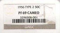 1956 NGC label