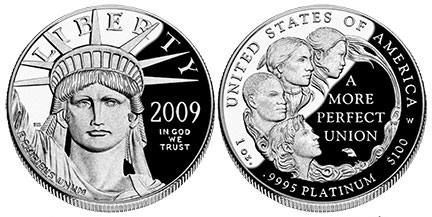 2009 Proof Platinum Eagle