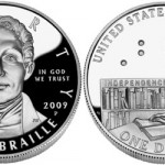 Louis Braille Silver Dollar Sales Ending Today