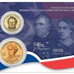 US Mint Offers Zachary Taylor Coin and Margaret Taylor Medal Set