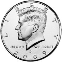 2009 Kennedy Half Dollar