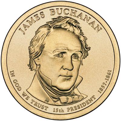 2010 James Buchanan Dollar