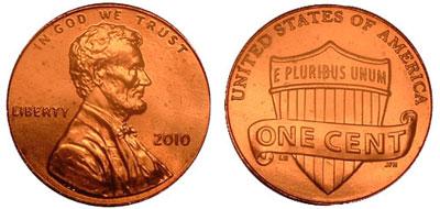 2011 D Union Shield Lincoln Penny 50 Rolls  Box