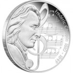 Perth Mint Releases Frédéric Chopin Silver Coin