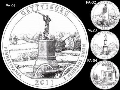 2011 Gettysburg Quarter