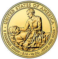 Margaret Taylor First Spouse Gold Coin
