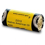 2010 Native American Dollar Coin Rolls Available