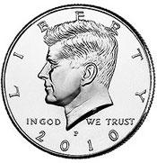2010 Kennedy Half Dollar