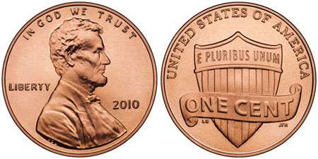 2010 Lincoln Penny