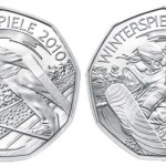 Austrian Mint Ski-Jump and Snowboarding Coins for 2010 Olympics