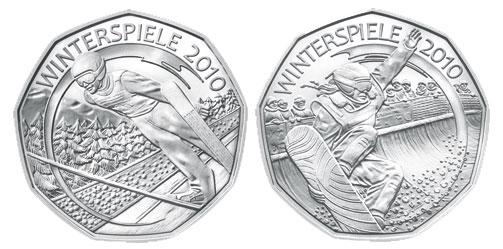 Austian Olympic Coins