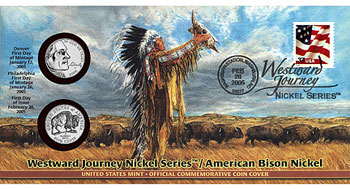 Westward Journey Nickel Coin Cover