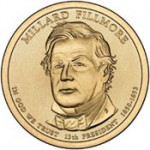 US Mint Sales: Millard Fillmore Dollar Rolls Debut