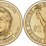 US Mint Releases Millard Fillmore Dollar, Offers 25-Coin Rolls