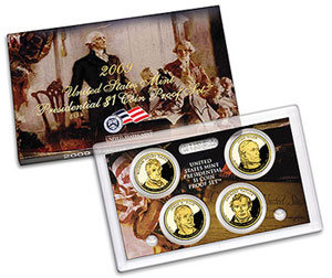 Presidential Dollar Proof Set