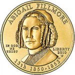 US Mint Sales: Abigail Fillmore First Spouse Gold Coins Debut