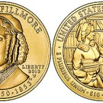 US Mint Offers 2010 Abigail Fillmore First Spouse Gold Coins