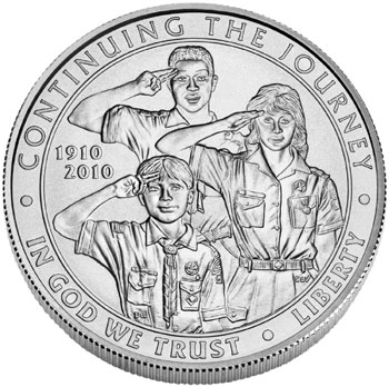 Boy Scouts Coin