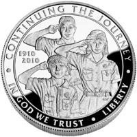 Boy Scouts Silver Dollars