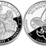 Boy Scouts of America Centennial Silver Dollar on Sale